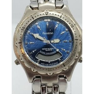 Armitron Men's Blue Dial 42mm T205 Watch